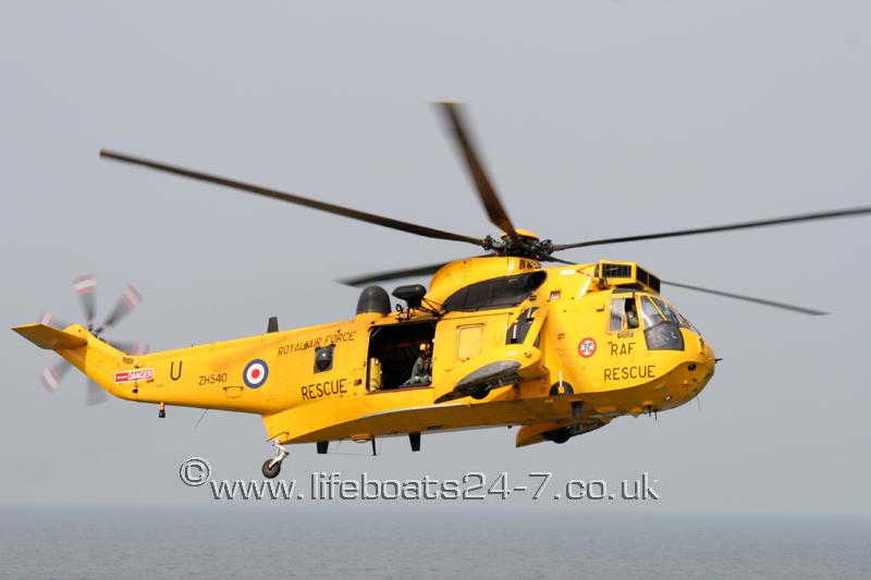 RAF SAR Seaking