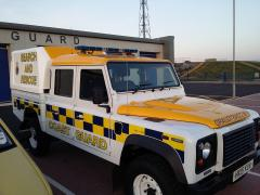 Land Rover 130 at Training Centre