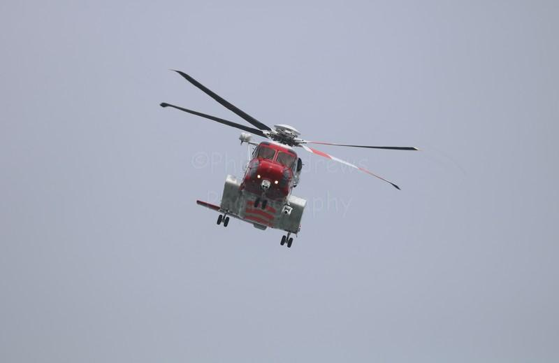 Sikorsky S-92A Filey 23-7-2017.