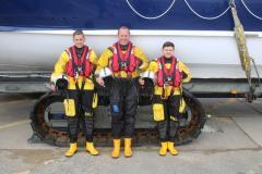 Filey Lifeboat ILB crew 2017