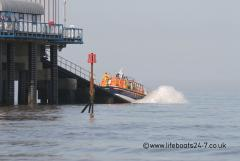 Cromer Lifeboat Launching On Service......
