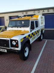 Land Rover 130 at Training Centre 2