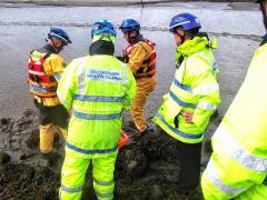 Mud Rescue Training (Copywrite Blue)