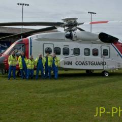 Prestwick S-92 drops in to see Maryport CRT