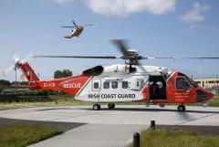 Irish Coast Guard Rescue 115, EI-ICR and Rescue 118, EI-ICA